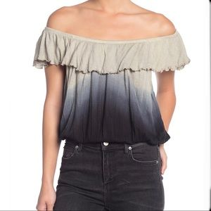 Free People Ombré Top